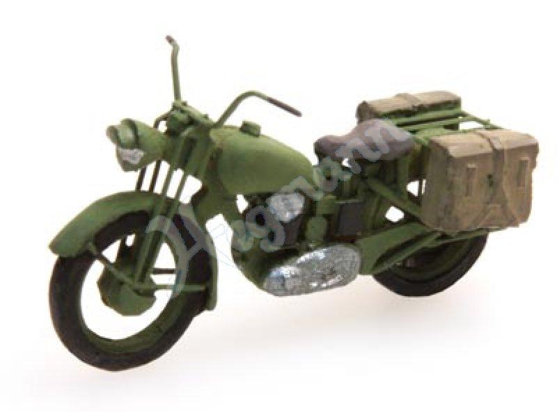 motorrad triumph mil bausatz 1 87 milit rbausatz aus. Black Bedroom Furniture Sets. Home Design Ideas