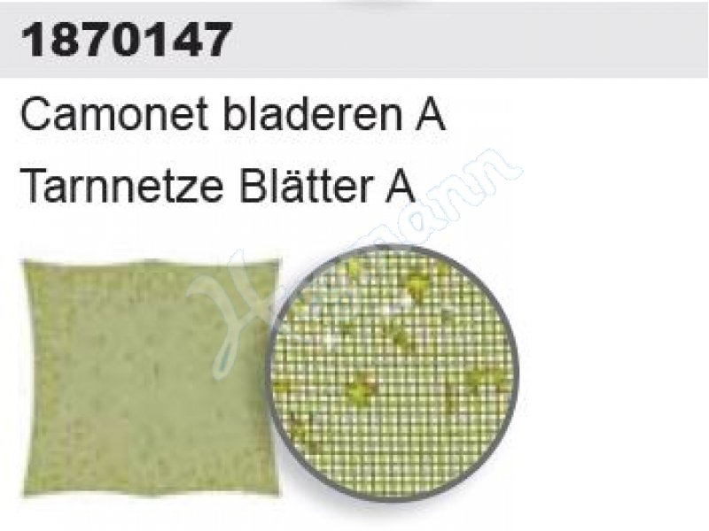 Artitec 1870147-1//87 Neu Militär H0 Tarnnetz Blätter A