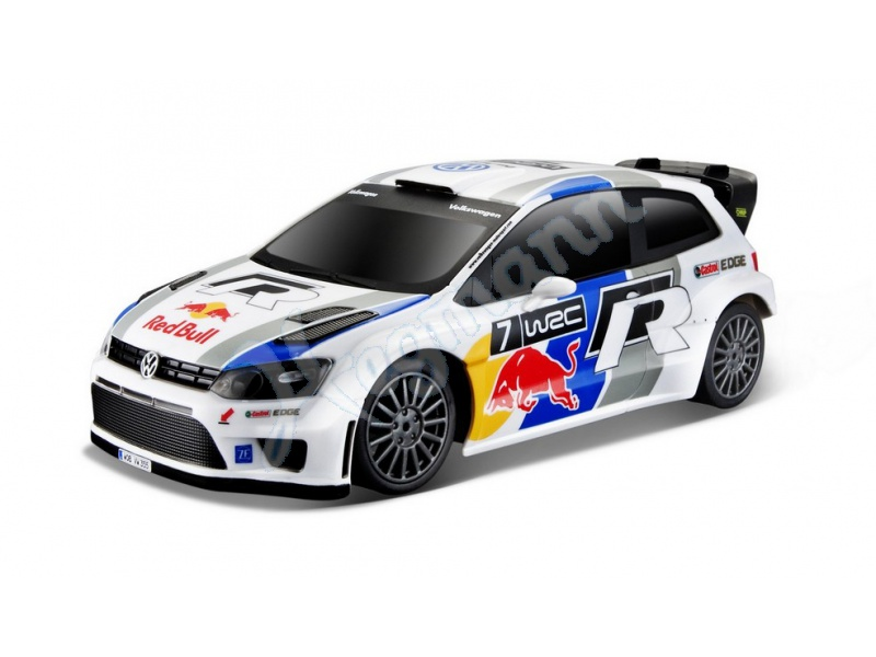 1 24 r c vw polo red bull wrc ferngesteuertes auto von. Black Bedroom Furniture Sets. Home Design Ideas