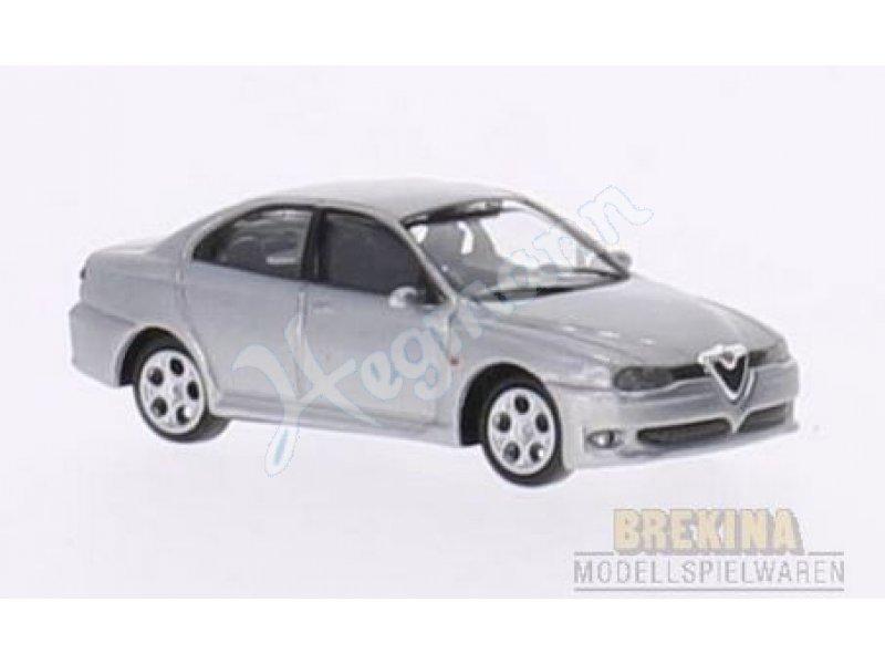 Alfa Romeo 156 GTA 2002 Ricko 1:87 silber Modellauto Fertigmodell