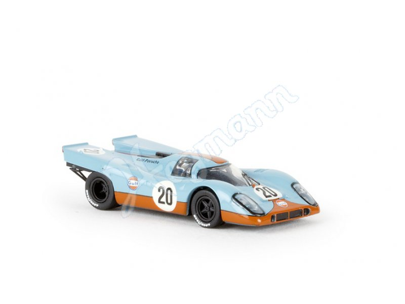 porsche 917 k 20 gulf team brekina modell neuheit messe. Black Bedroom Furniture Sets. Home Design Ideas
