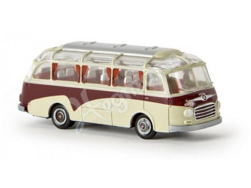 setra s6 bus elfenbein weinr miniaturfahrzeug im. Black Bedroom Furniture Sets. Home Design Ideas