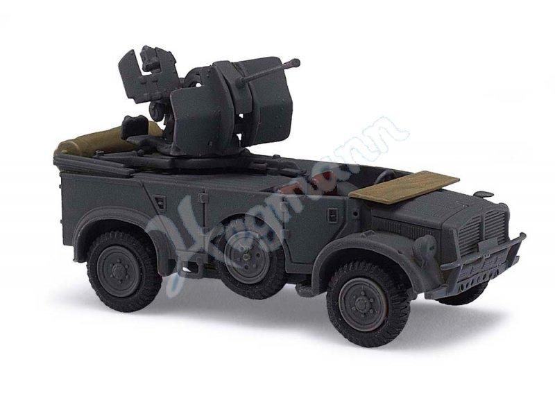 Horch 108 Typ 40 Flackgesch Busch Military Edition H0 1