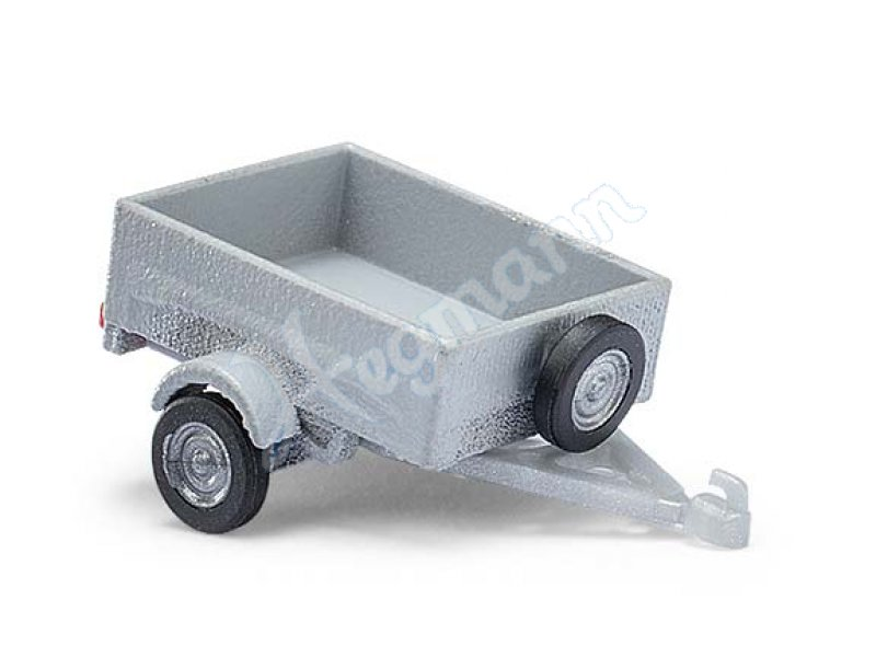 kleiner pkw anh nger busch modell im modellbahn ma stab 1 87 h0 busch 59942. Black Bedroom Furniture Sets. Home Design Ideas