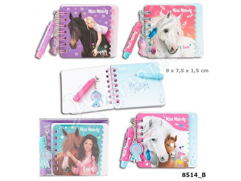 Miss Melody Mini Notizbuch Se Miss Melody Mini Notizbuch Set