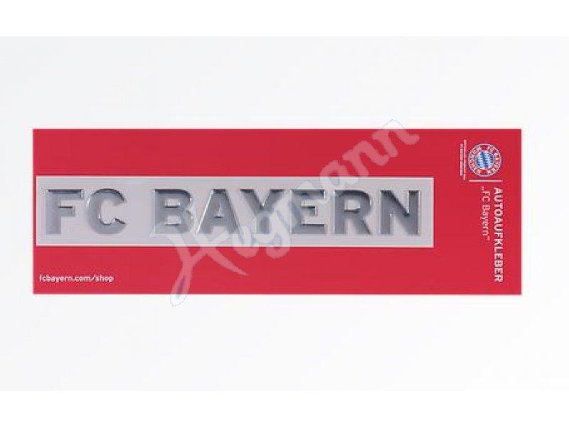 Autoaufkleber Chromflex Fc Ba Original Fc Bayern Fan Artikel