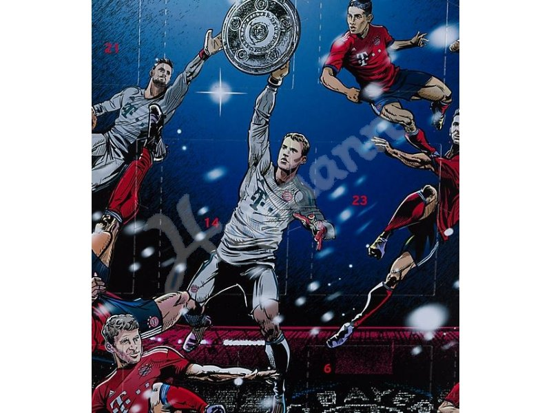 Fc Bayern Weihnachtskalender.Fcb Adventskalender 2018 Adventskalender 2018 F C Bayern München