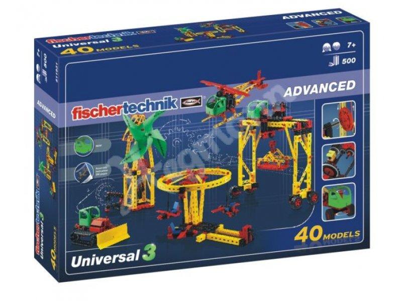 Fischertechnik Advanced Universal 3 Einsteigerbaukasten Motor Set XS Bau- & Konstruktionsspielzeug-Sets