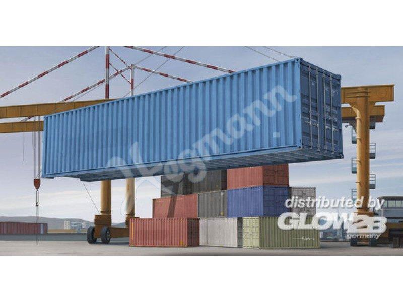 1 35 40 Fuss Container Trumpeter 751030 Plastik Bausatz Glow2b
