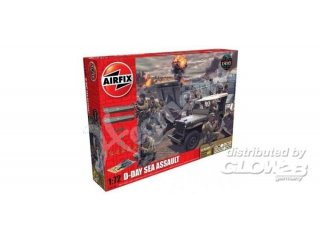 Airfix A50156A D-Day 75th Anniversary Sea Assault Gift Set