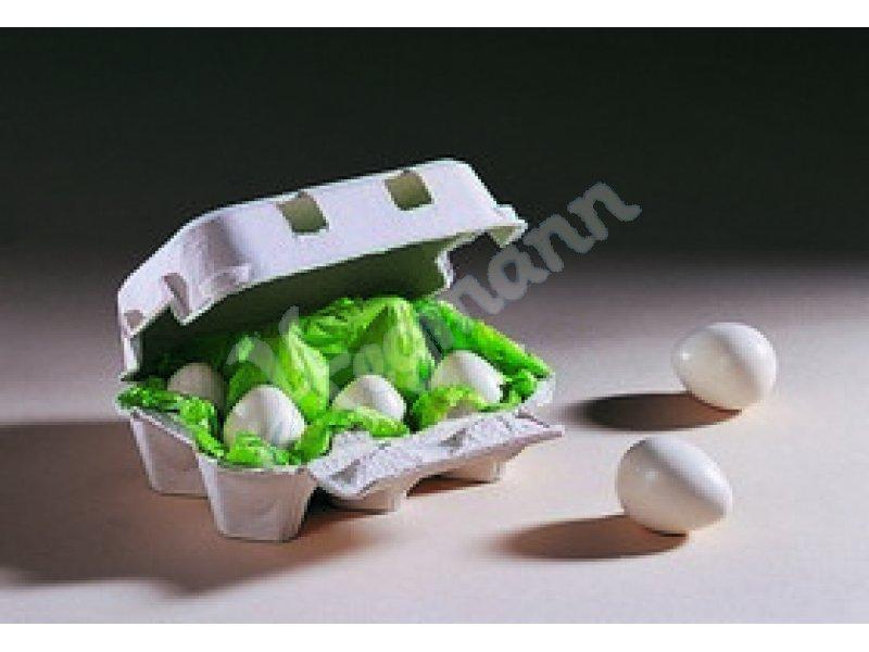 Holzspielzeug Haba 1368 Landeier 6 Eier im Karton 1368 Baby