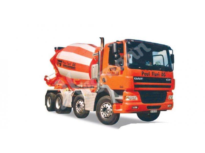 Herpa LKW DAF CF Betonmischer-LKW Paul Fluri AG 922661