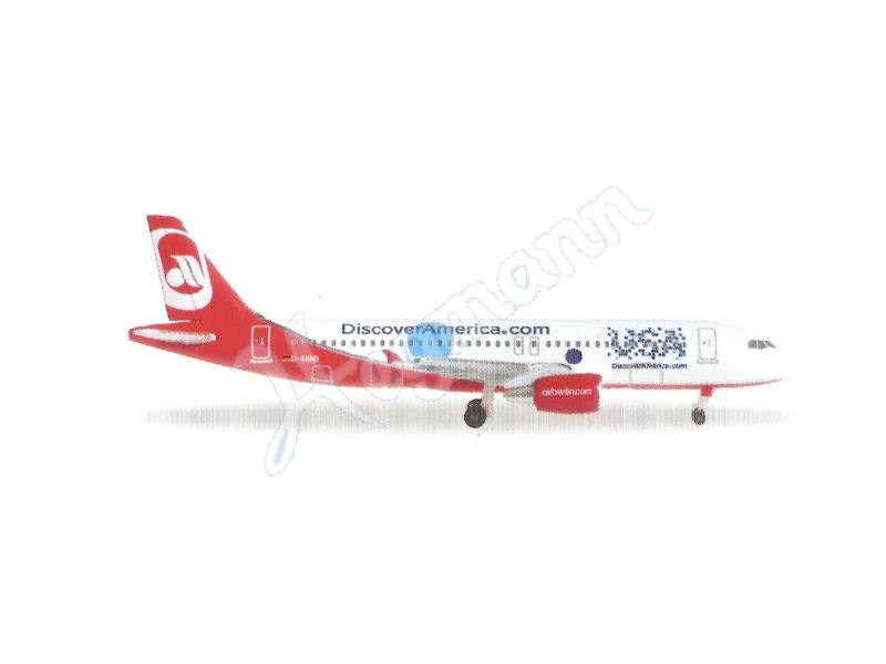 eXtra AirBerlin A320 Discover