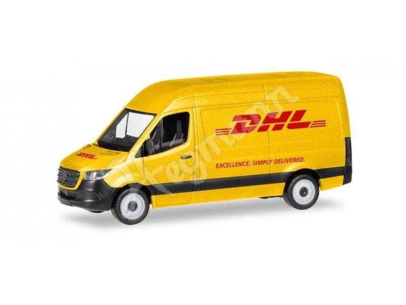 Mb Sprinter18 Kasten Dhl Herpa 094313 H0 187 Auto Miniatur Im
