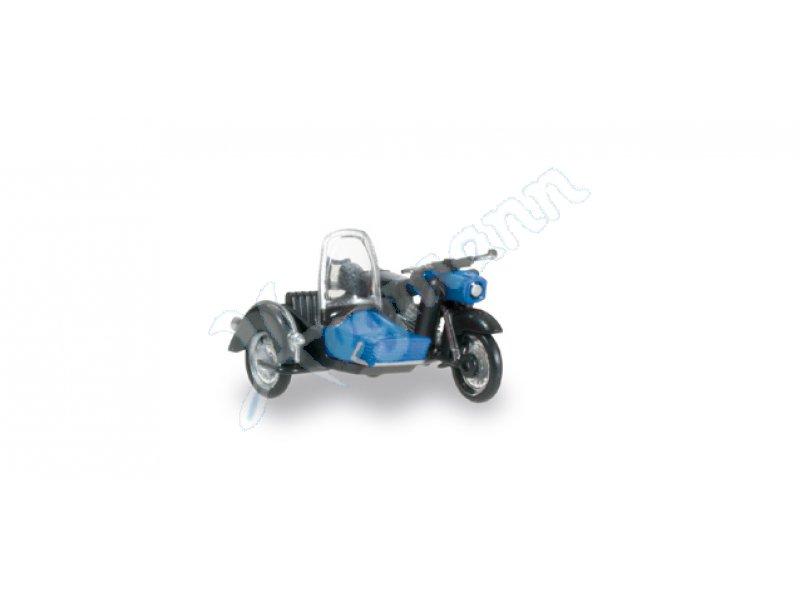 mz 250 mit beiwagen schwarz b miniatur motorrad im. Black Bedroom Furniture Sets. Home Design Ideas