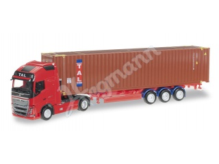herpa 1:87 H0 Volvo FH16 GL XL Container-Sattelzug