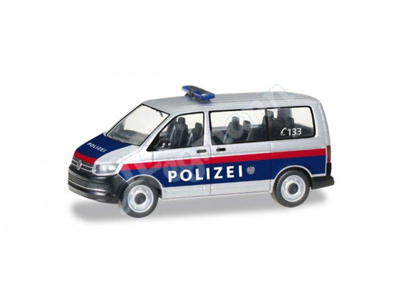 AWM AMW 72096 Volkswagen VW Passat Polizei Police Luxemburg weiß 1:87 H0