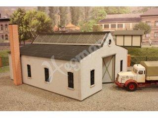 Lkw Garage Dekoration : H deko set gartenh garage kibri gebäude modellbausatz spur