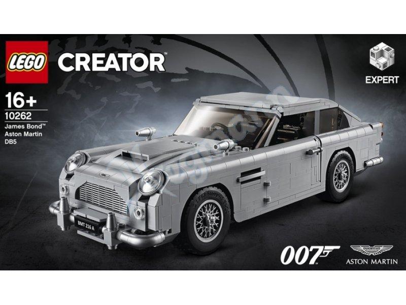 James Bond Aston Martin D85 Lego 10262 Creator Hol Dir Eine Lizenz Zum Bauen Mit Dem Lego Creator Expert Set James Bond Aston Martin Db5 Lego 10262