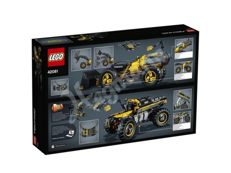 volvo konzept radlader zeux lego technic lego 42081. Black Bedroom Furniture Sets. Home Design Ideas