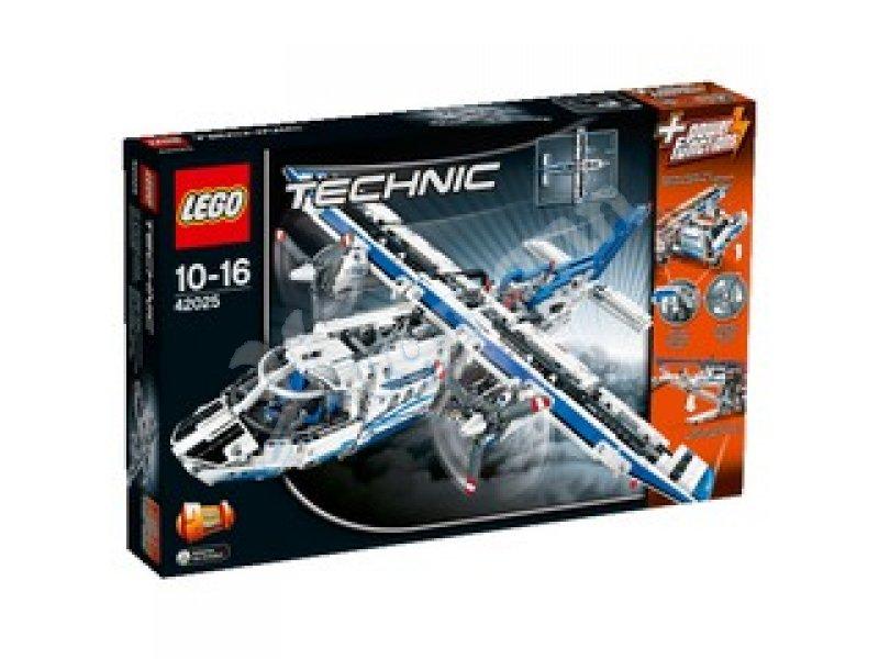 frachtflugzeug 10 16 jahre frachtflugzeug lego 42025. Black Bedroom Furniture Sets. Home Design Ideas