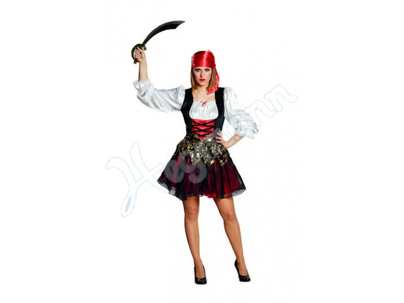Piratenbraut Mottoland Fasching Karneval Fastnacht Mottoland