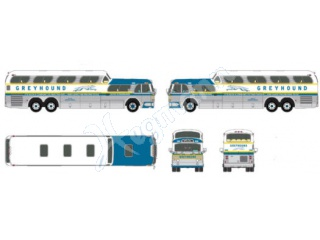 H0 1:87 1960 Scenicruiser Bus