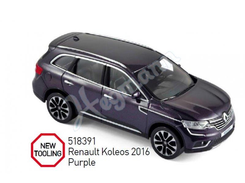 renault koleos 2016 norev automodell im ma stab 1 43 in. Black Bedroom Furniture Sets. Home Design Ideas