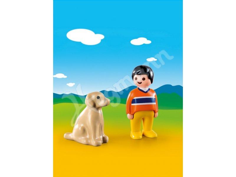mann mit hund playmobil 9256 mann mit hund playmobil® 9256