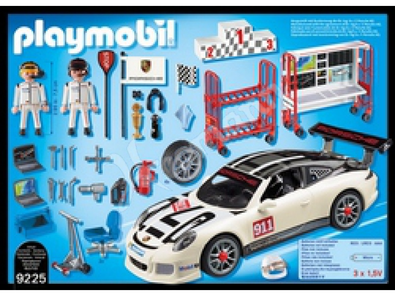 porsche 911 gt3 cup playmobil 9225 porsche 911 gt3 cup. Black Bedroom Furniture Sets. Home Design Ideas