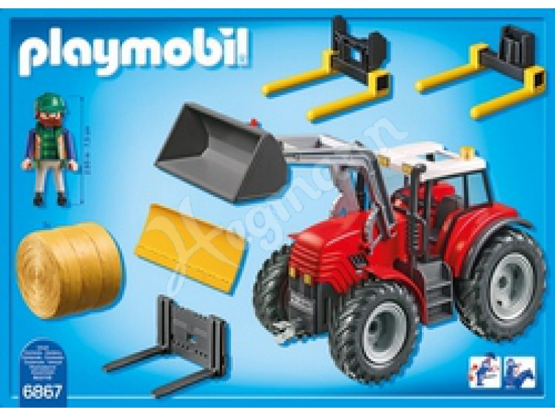 Playmobil radlader amazon spielzeug