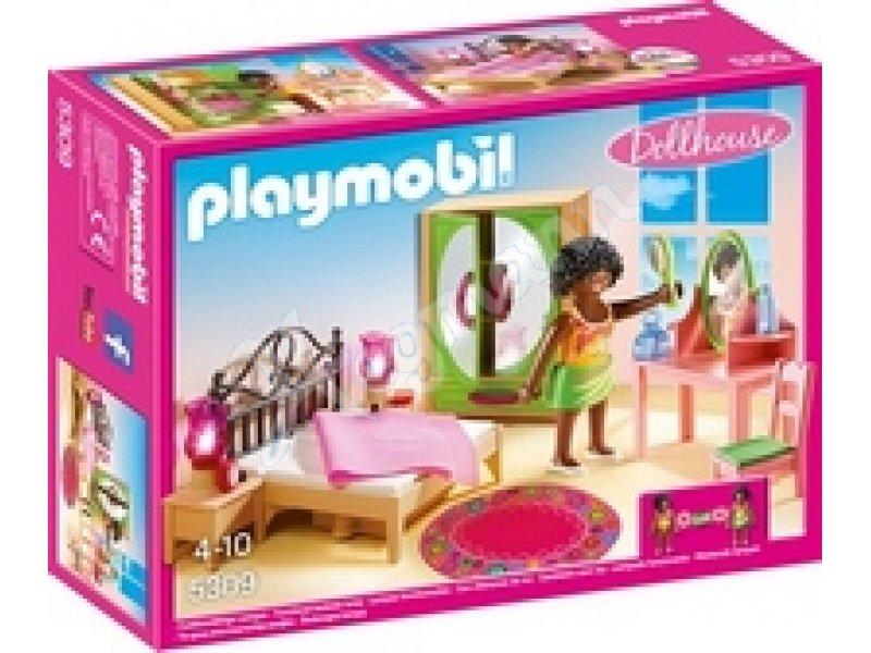 Schlafzimmer mit Schminktisch PLAYMOBIL 5309 Schlafzimmer mit ...