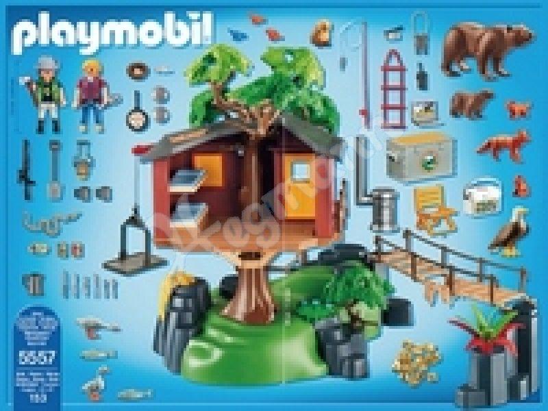 abenteuer baumhaus playmobil wild life spielalter 4 10 playmobil 5557. Black Bedroom Furniture Sets. Home Design Ideas
