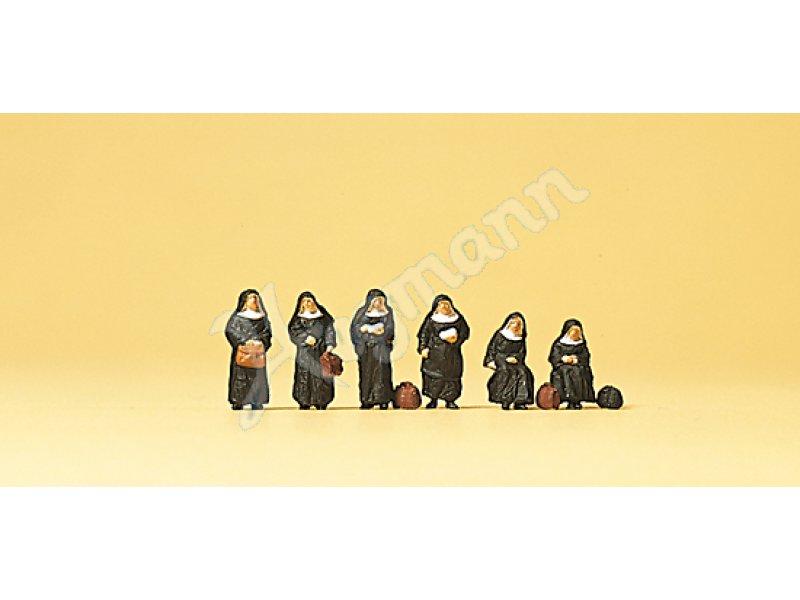 Nonnen #NEU in OVP# Preiser 10402 Spur H0 Figuren