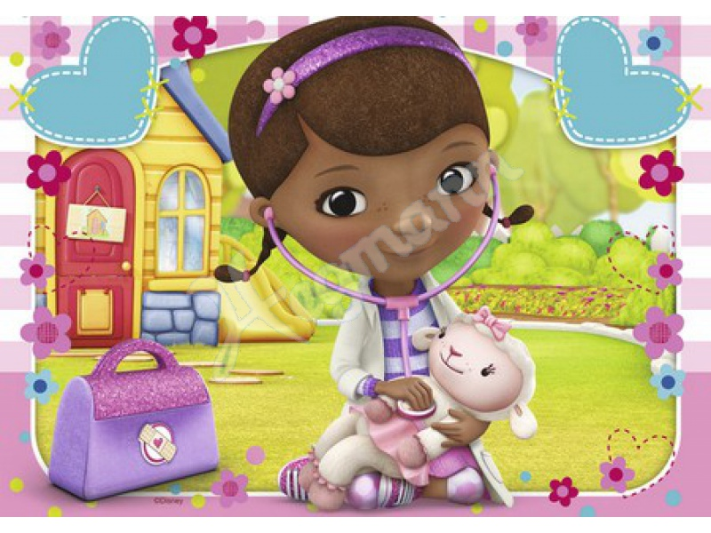 dms docmcstuffins 2 x 24 serie kinderpuzzles karton inhalt ravensburger 090808. Black Bedroom Furniture Sets. Home Design Ideas
