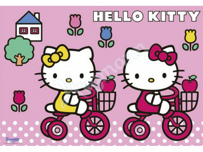 hk kitty feiert geburt 2 x 12 serie kinderpuzzles karton inhalt ravensburger 075539. Black Bedroom Furniture Sets. Home Design Ideas