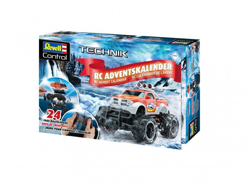 Revell Weihnachtskalender.Adventskalender Rc Car 2018 Revell 01019 Adventskalender Revell 01019