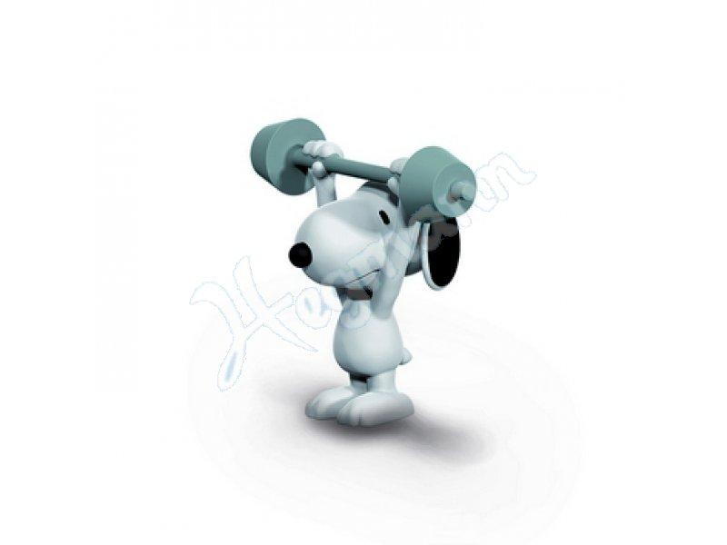 Gewichtheber Snoopy SCHLEICH 22075 Sammelfigur(en) SCHLEICH 22075