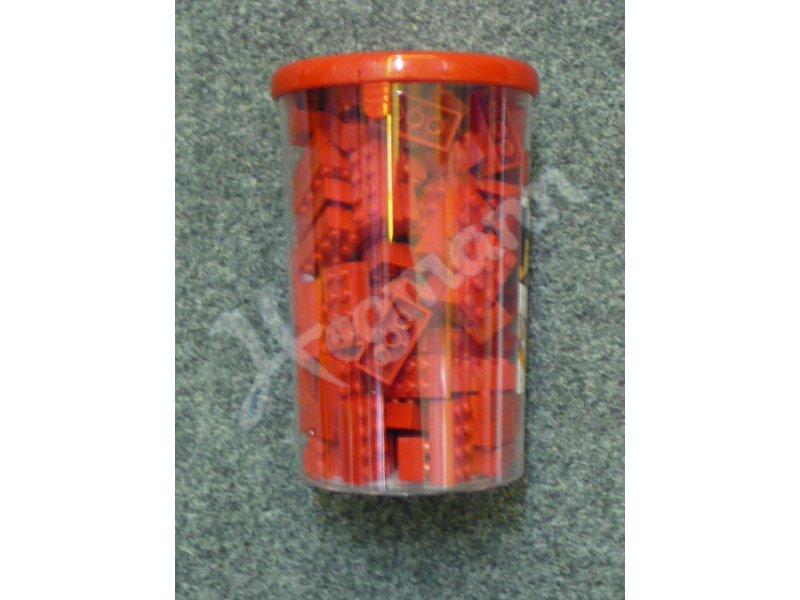 Blox 100 rote 8er Steine in Dose von Simba Dickie Baukästen & Konstruktion
