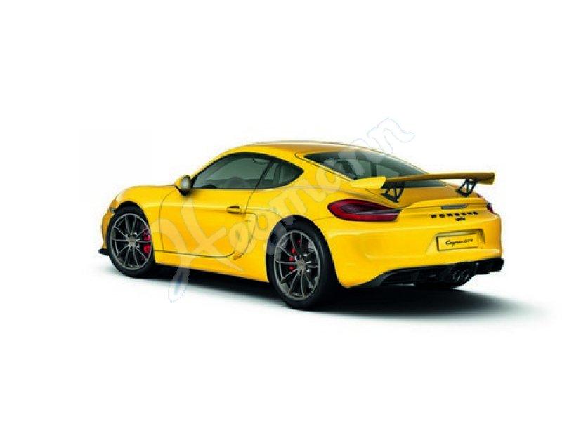 Porsche Cayman Gt4 Gelb 1 18 Sammler Automodell Im