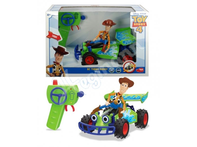 rc toy story buggy with woody funkferngesteuertes auto mit. Black Bedroom Furniture Sets. Home Design Ideas