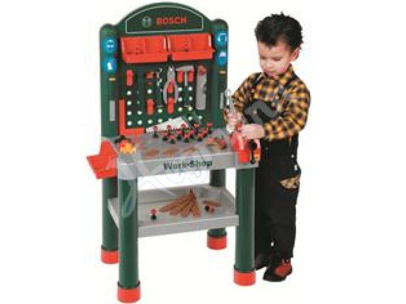 Bosch Werkbank grün mini Originalgetreues Spielzeug mit ...