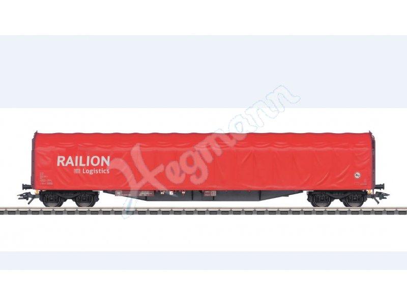 Schiebeplanenwagen Raillion DB OVP neu Märklin H0 47104