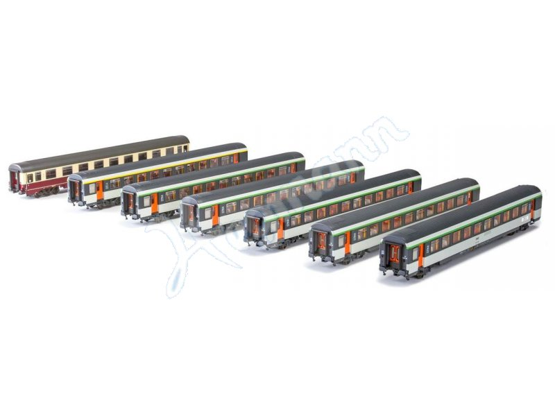 H0 Set D256 Frankfurt Paris Ls Models Mw1702 Dc 187 H0 Vedes Mc