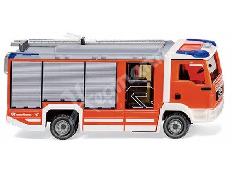 Wiking Mercedes LF 10//6 CL Rosenbauer Feuerwehr 0964 01-1:160