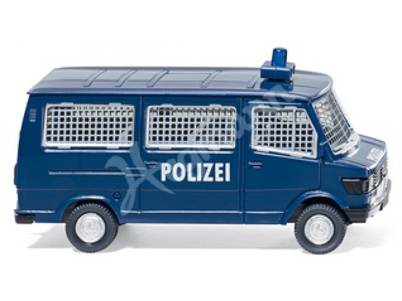 polizei bus mb 207 d modellauto f r sammler im. Black Bedroom Furniture Sets. Home Design Ideas