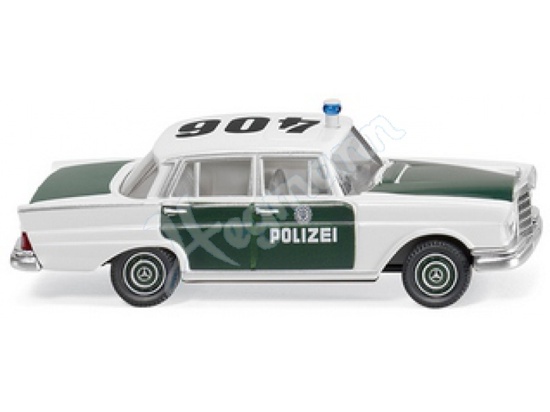 polizei mb 220 s modellauto f r sammler im modellbahn. Black Bedroom Furniture Sets. Home Design Ideas