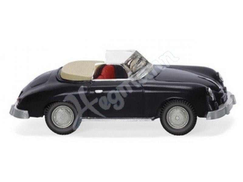 porsche 356 cabrio schwarz wiking 1 87 klassik edition. Black Bedroom Furniture Sets. Home Design Ideas