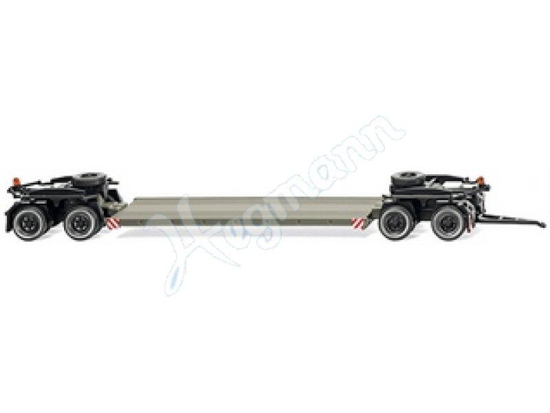 Tieflade-Anhänger (Scheuerle) Miniatur-Modell im Modellbahn
