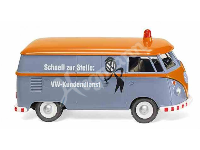 Wiking VW T1 Sambabus rot//braun 0317 04-1//87